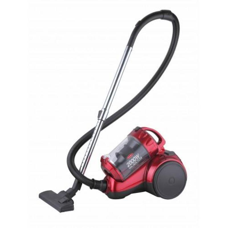 Europace EVC3200S  2000W Multi-Cyclone Vacuum Cleaner (Red) Singapore