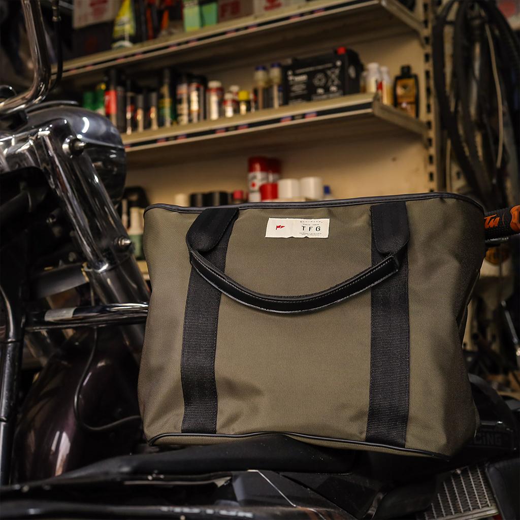 Tote Bag Tomoko 407 Green