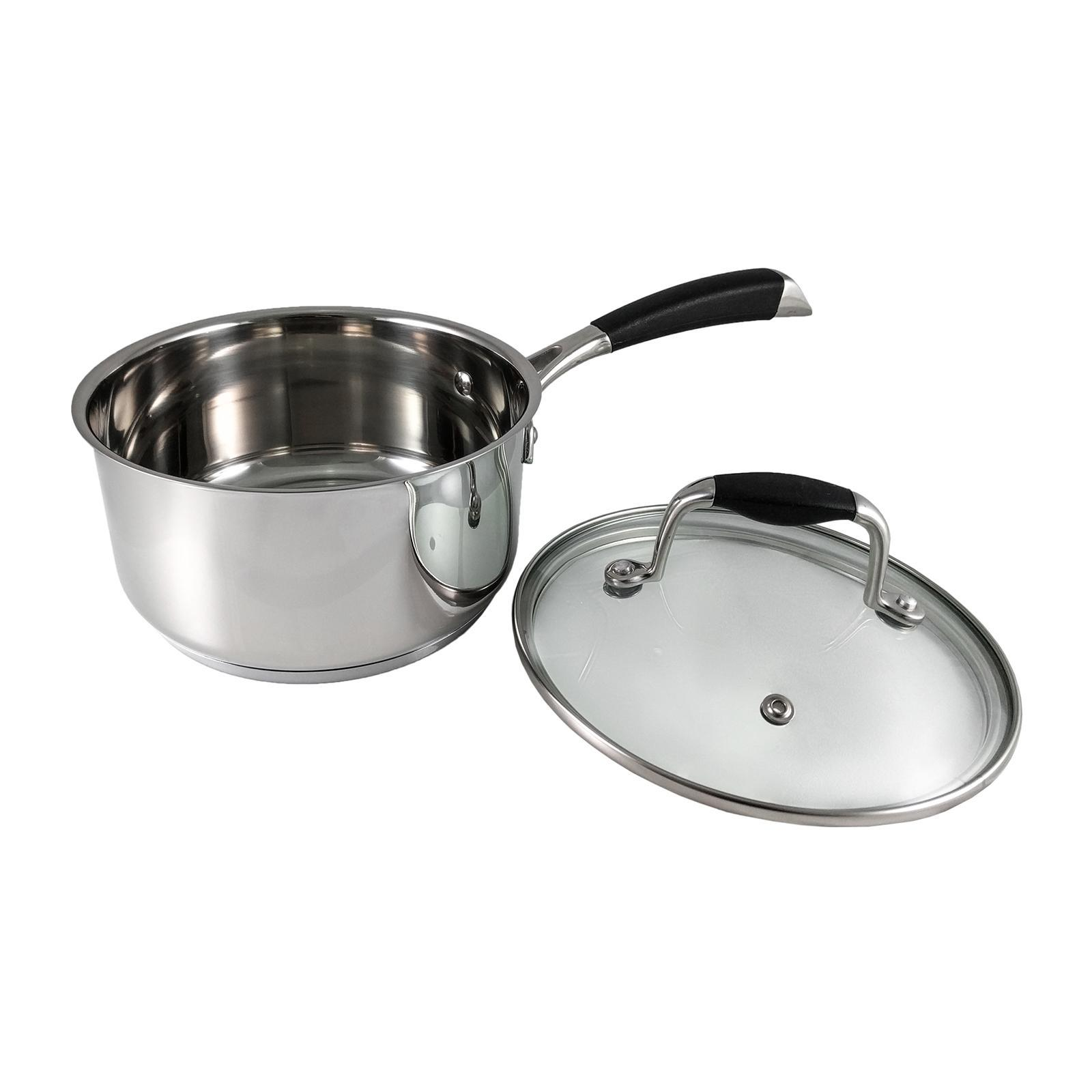 Amark Chef Delight Tri-Ply Stainless Steel Saucepan 16cm
