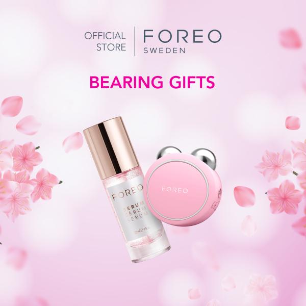 Buy [Mothers Day Exclusive] FOREO Bearing Gifts: BEAR mini Face Tightening Device + Serum Serum Serum 30ml Singapore
