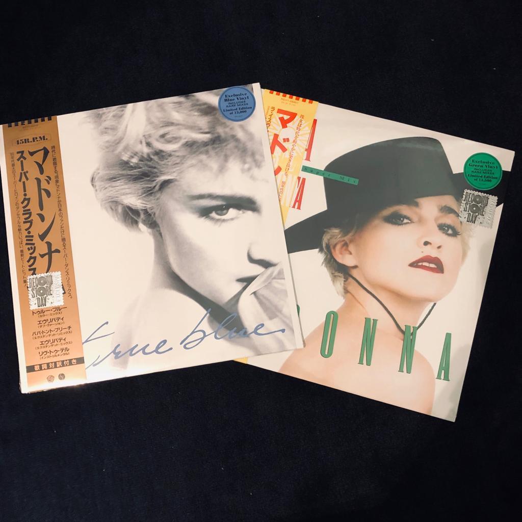 Madonna - RSD 2019 exclusive - True Blue / La Isla Bonita set