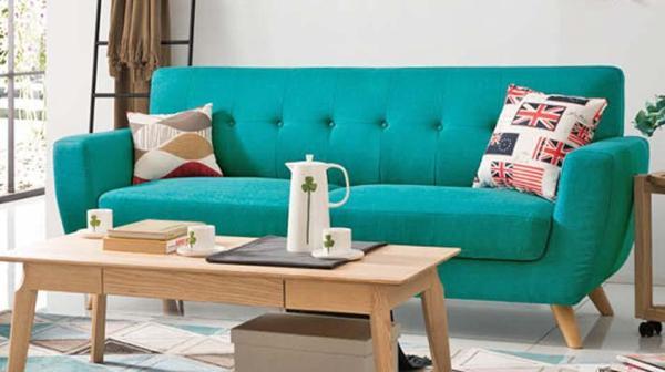 SFF243 ZG Fabric 3 Seaters Sofa set