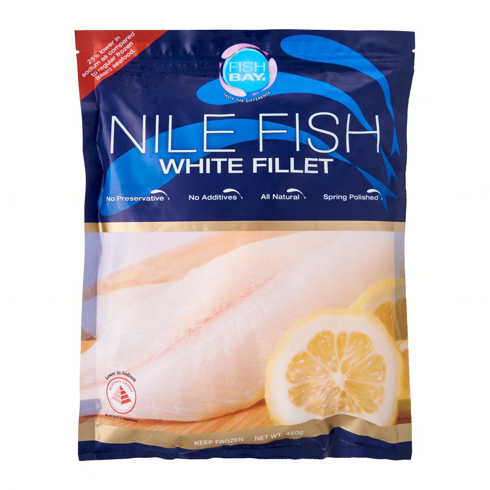 Fish Bay Nile Fish White Fillet - Frozen By Redmart.