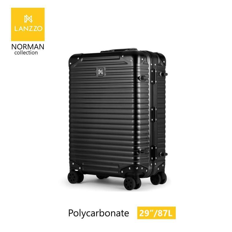 LANZZO Norman 29 Polycarbonate Luggage 87L/ 6KG