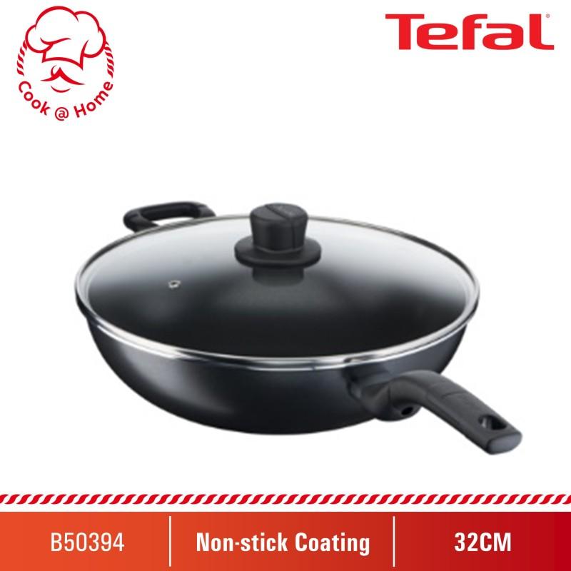Tefal Cook Easy 32cm Wokpan w/lid B50394 Singapore