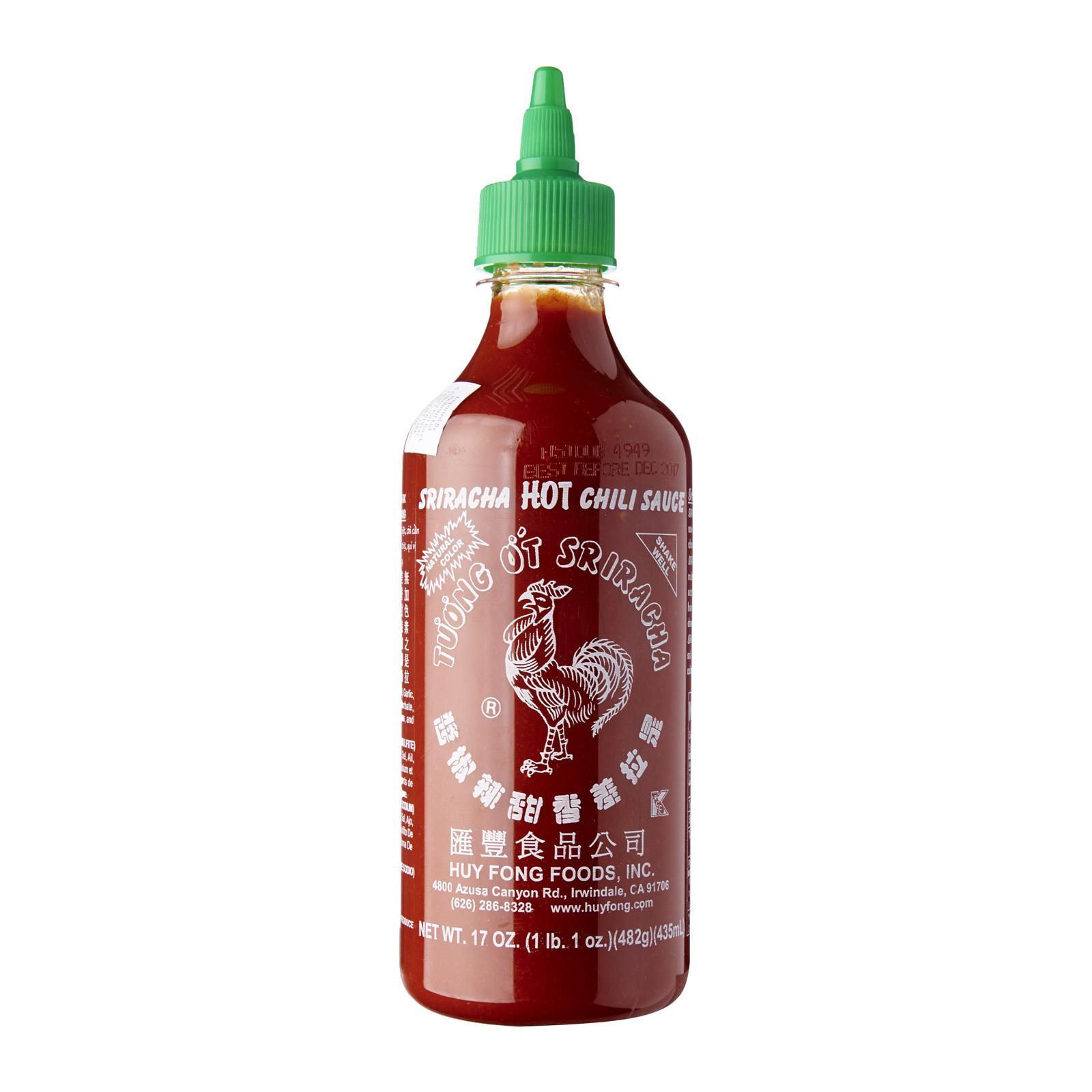 Huy Fong Sriracha Hot Chili Sauce Aka Rooster Sauce (chili Sauce) By Redmart.