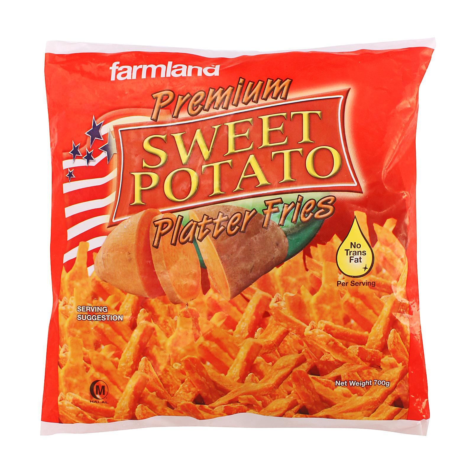 Farmland Sweet Potato Fries - Frozen By Redmart.