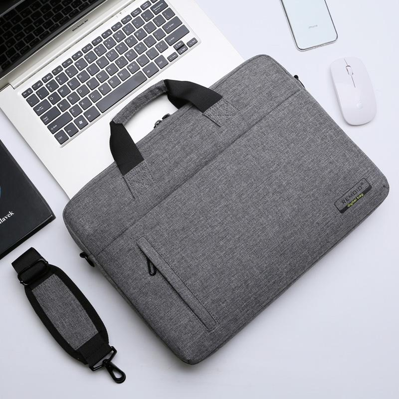 XIAOMI Huawei Lenovo Apple Dell Asus 13/14/15.6/17.3-Inch Men And Women 13.3-Inch Shoulder Bag/ Hand Bag Laptop Bag Waterproof Shockproof Computer Bag Briefcase 15-Inch Sleeve