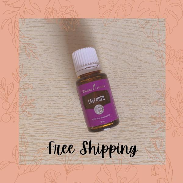 Buy [FREE MAIL] 100% Authentic Young Living Lavender Essential Oil (15ml) Singapore