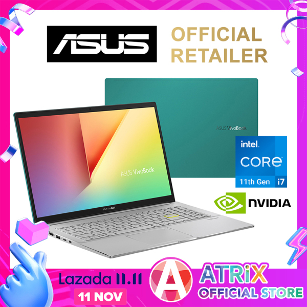 "【Express Delivery】ASUS 2020 VivoBook S15 S533FL〖Free Office 2019〗Wifi 6 | 16.1mm Slim design | 15.6"" FHD 100% sRGB 