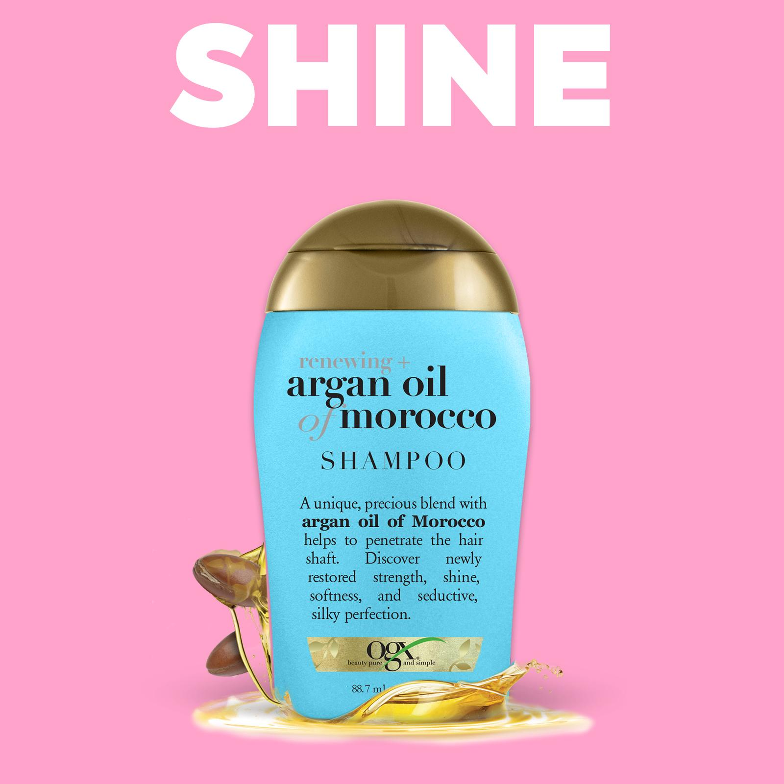 Ogx Renewing Argan Oil Of Morocco Shampoo (travel Sample Trial) By Ogx Official Store.