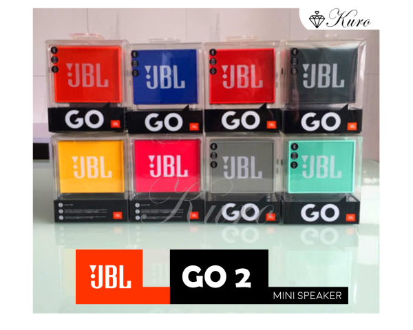 JBL GO 2 Waterproof Portable Bluetooth Mini Speaker (Music Brick, Subwoofer) Singapore