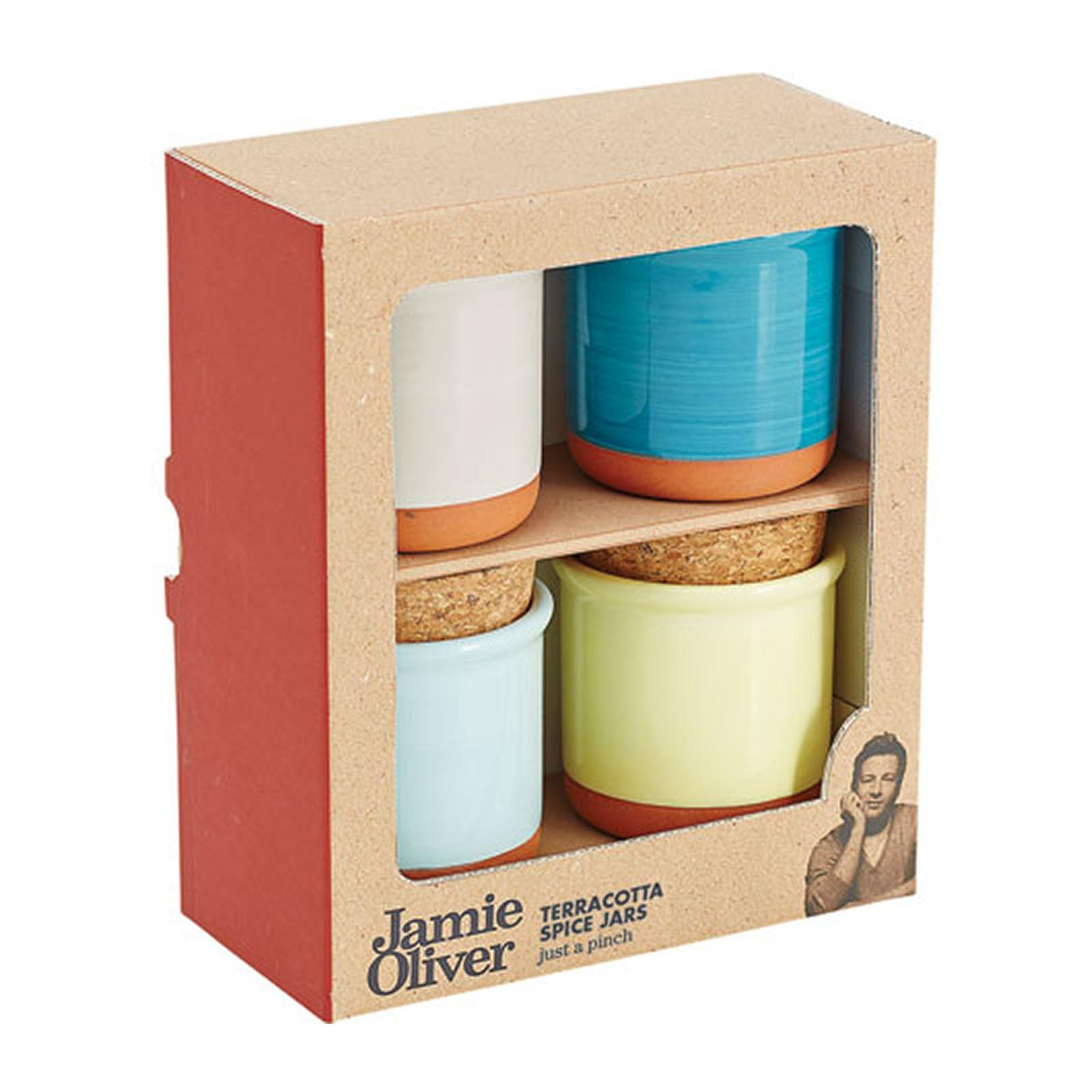 Jamie Oliver Terracotta Spice Set - By ToTT