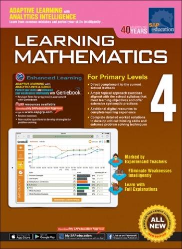 Learning Mathematics For Primary Levels 4 + Geniebook