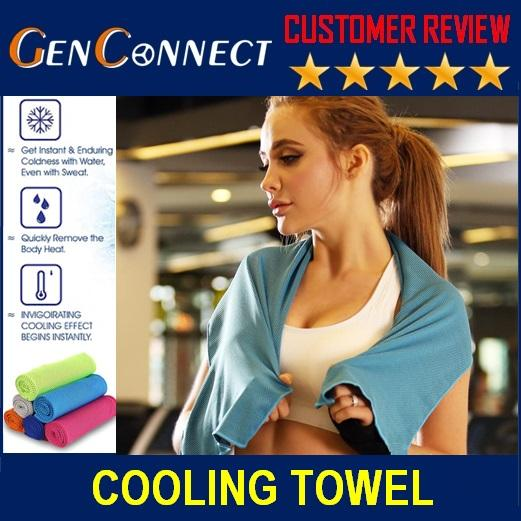 Cooling Sports Towel Gym Towel Exercise Towel Fitness Towel By Genconnect.