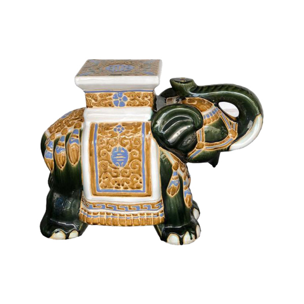 Ceramic Elephant Jade