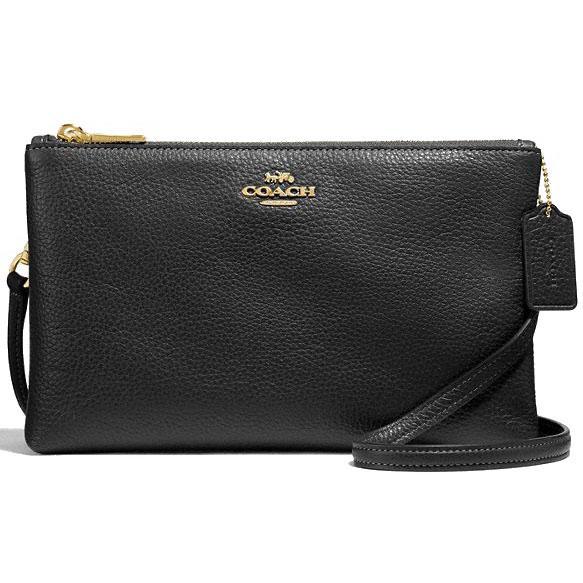 ed9230f489 Coach Crossbody Bag Lyla Crossbody Handbag Black   Gold   F34265 + Gift  Receipt