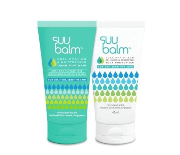 Buy Suu Balm™ Travel Kit [45ml Body Wash + 45ml Moisturiser] *Gift under $15* Singapore