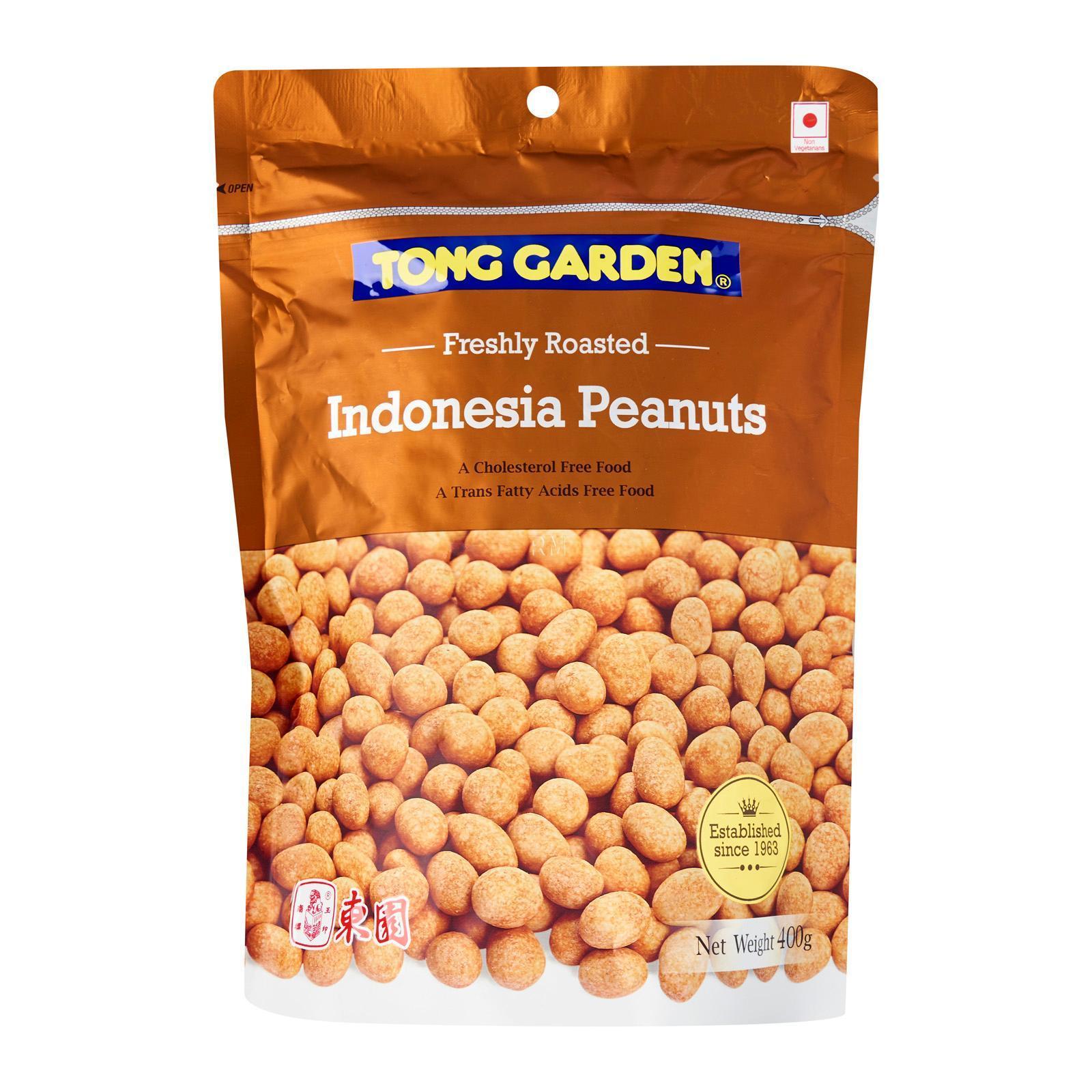TONG GARDEN White Sugar Peanuts 400g
