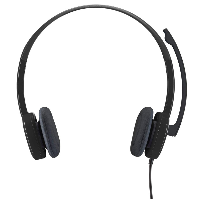 Logitech H151 Stereo Computer Headset Multi Device With In Line Controls Singapore