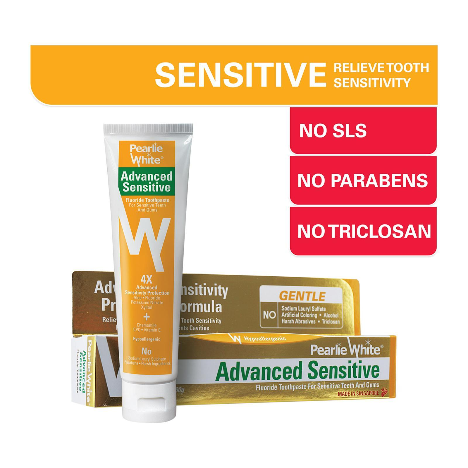 Pearlie White Advanced Sensitive Toothpaste