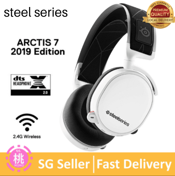SteelSeries Arctis 7 (2019 Edition) Lag-Free Wireless Gaming Headset with DTS Headphone:X v2.0 Surround for PC and PlayStation 4