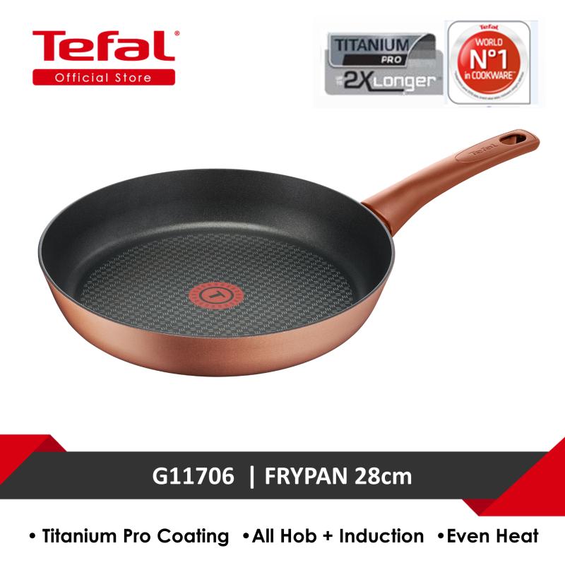 Tefal Chef's Delight Copper Frypan 28cm G11706 Singapore