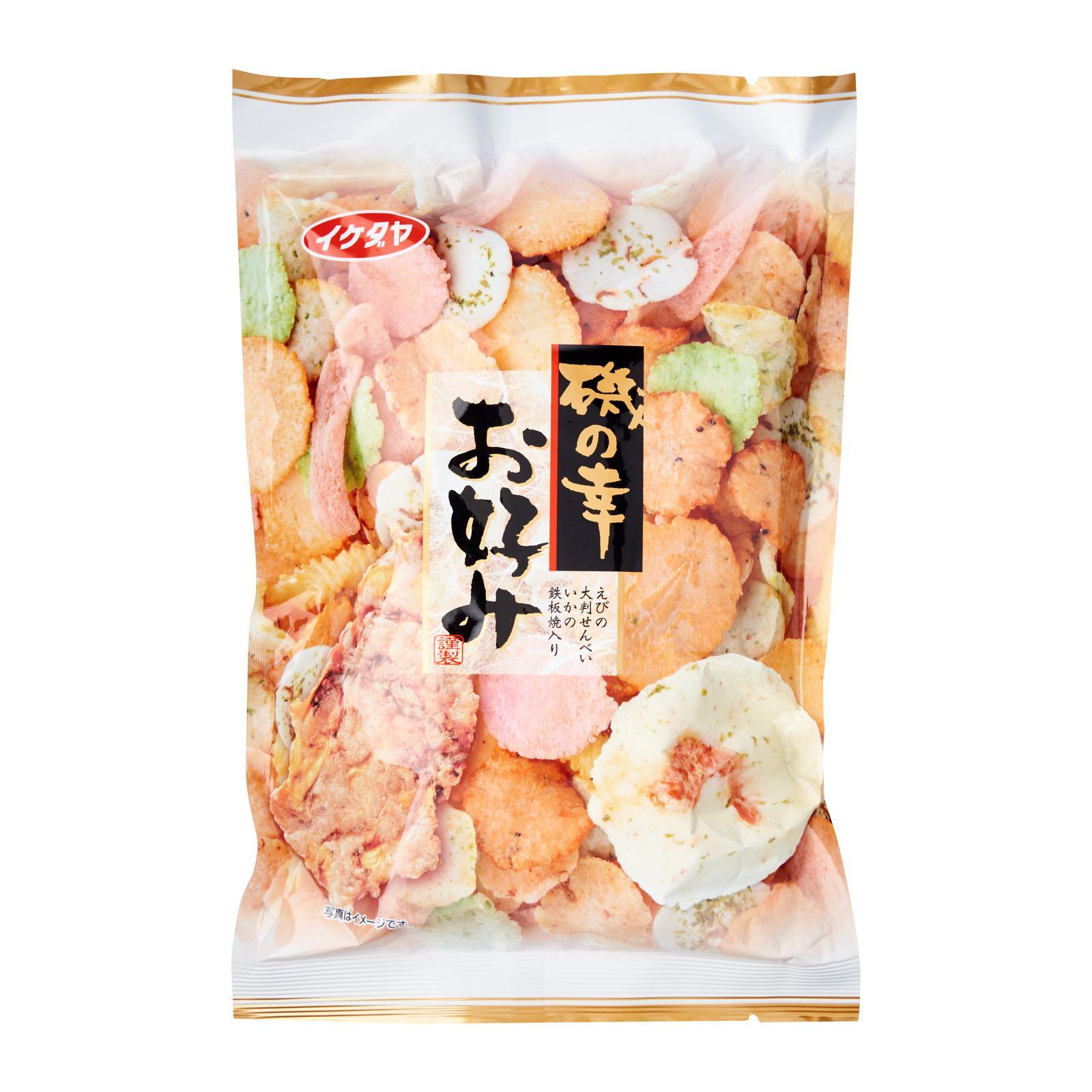 Ikedaya Seafood Favorites Assorted Rice Crackers