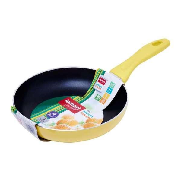 Lamart Induction Ready Non-Stick Fry Pan 20 x 4Cm - Yellow Singapore