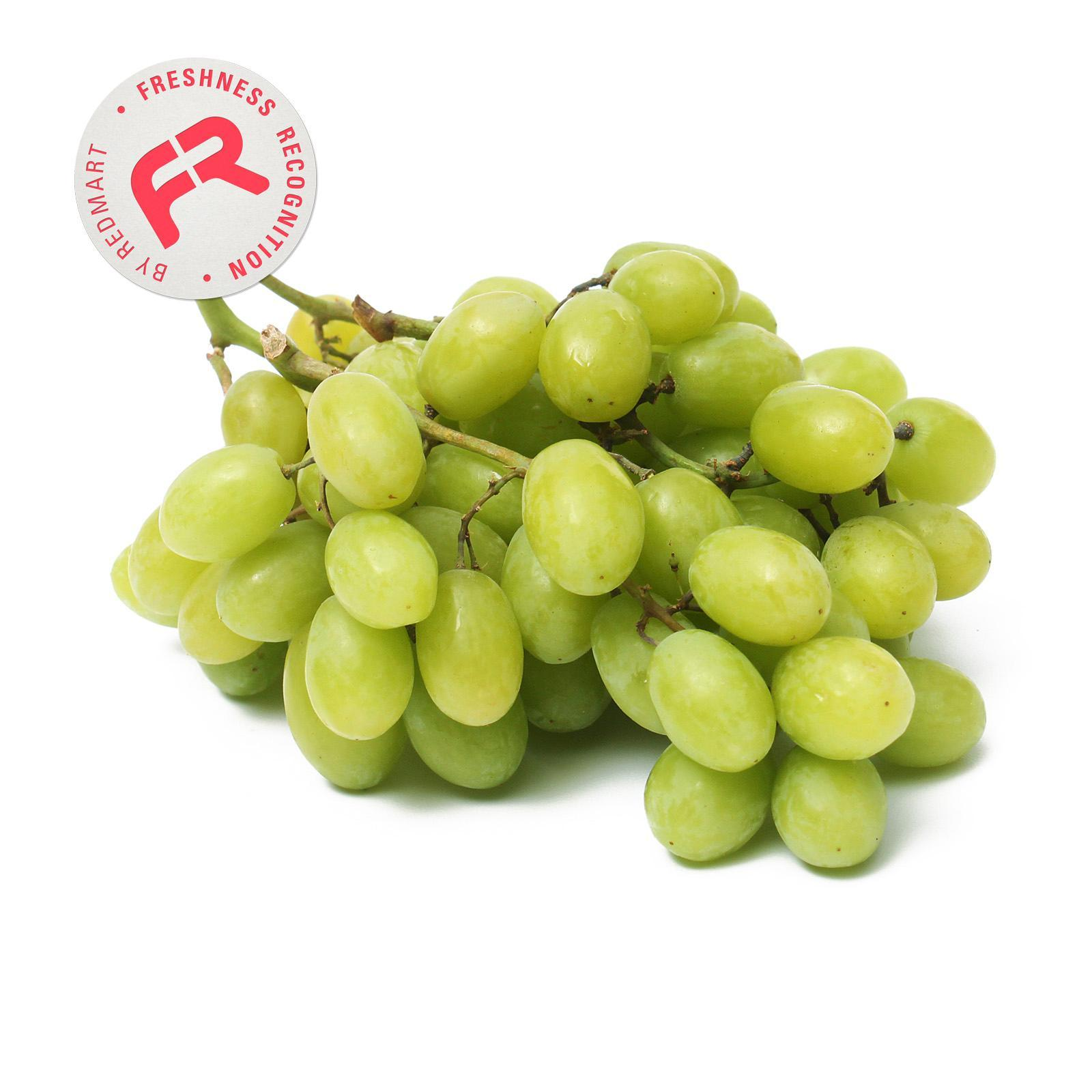 Green Seedless Grapes (air Flown) By Redmart.