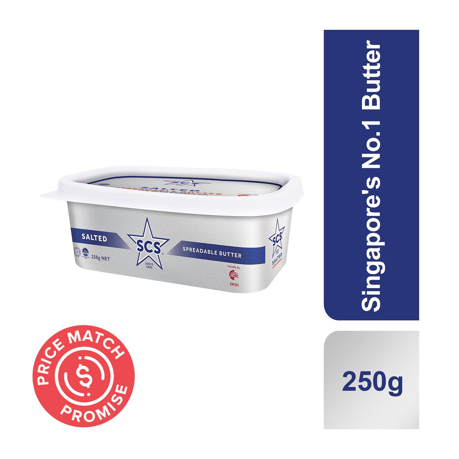 SCS Butter Spread Tub - Salted 250g