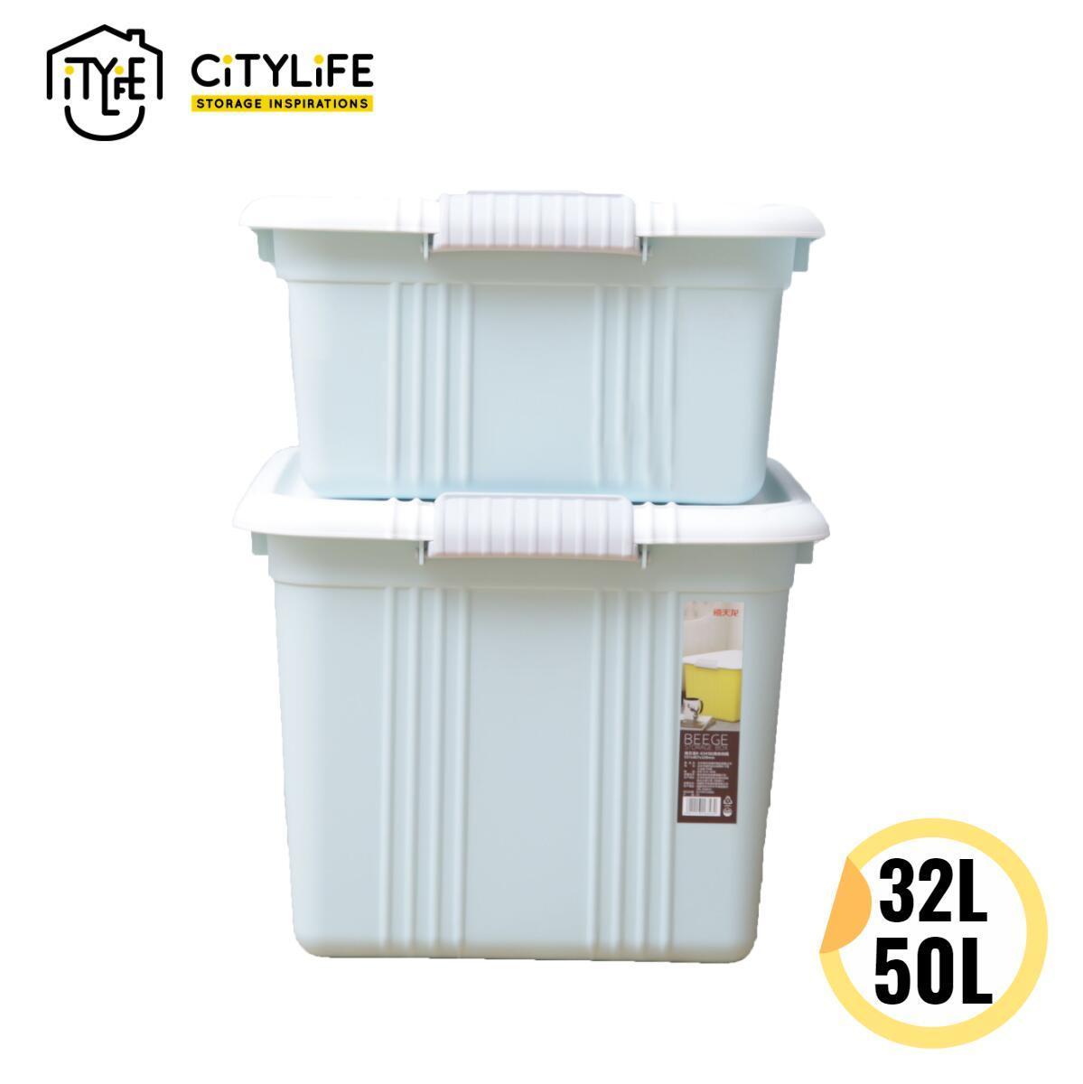 [BUNDLE OF 2] - Citylife Sugar Storage Container 50L+32L