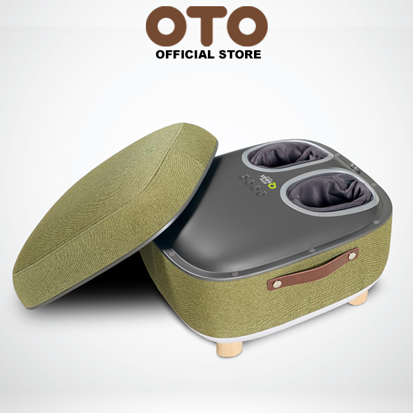 Buy OTO Official Store OTO Q Seat QS-88(GREEN) Foot Massager Spa Comfy Seat 4 Auto Massage Programs 3 Strength Levels Kneading Scraping Air-Pressing Tapping & Heat Singapore