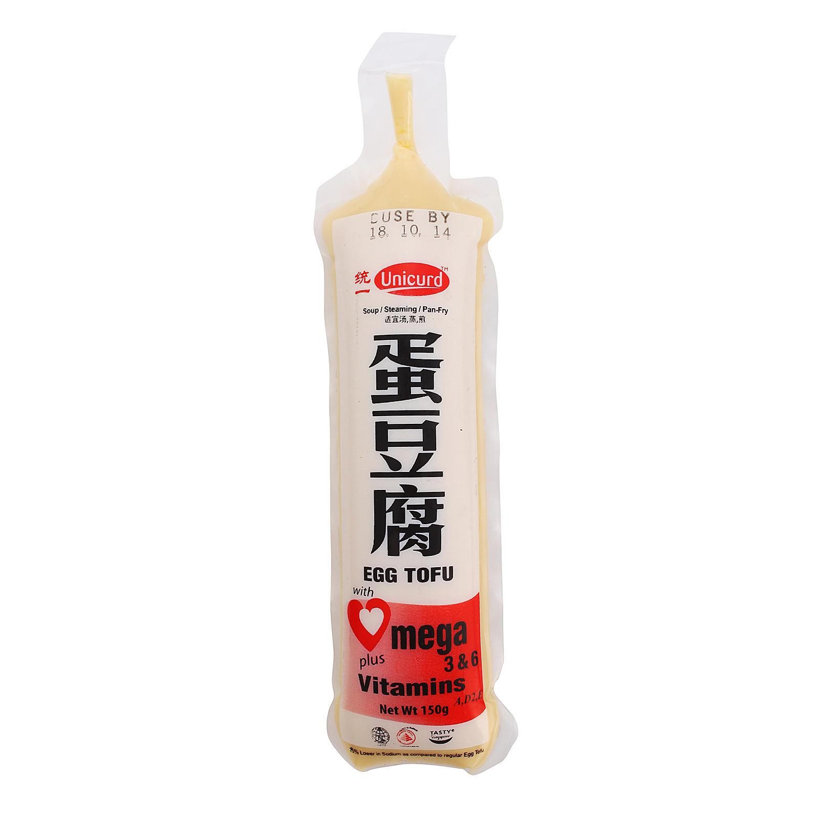 Unicurd Omega Egg Tofu (Tube)