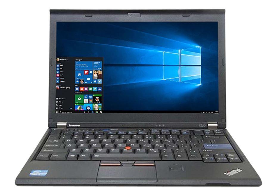 Refurbished Lenovo X220 Laptop / Intel Core i5 / 4GB RAM / 128GB SSD / Windows 7 / One Month Warranty