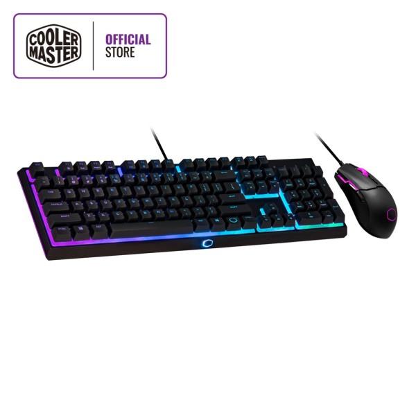 Cooler Master MS110 Keyboard & Mouse Combo, RGB Illumination, Mem-chanical Linear Switches, Pixart 5050, 3200 DPI Singapore