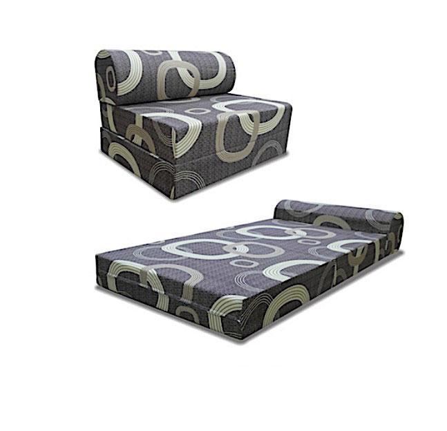 [Furniture Ambassador] Viro Sofa Bed - Single (Dark Grey)