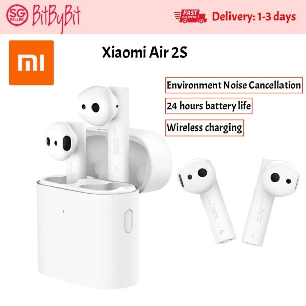 LATEST  Xiaomi Airdots 2S TWS Bluetooth Air 2S 2 S Mi True Wireless Earphone 2 Smart Voice Control LHDC Tap Control Dual MIC Singapore