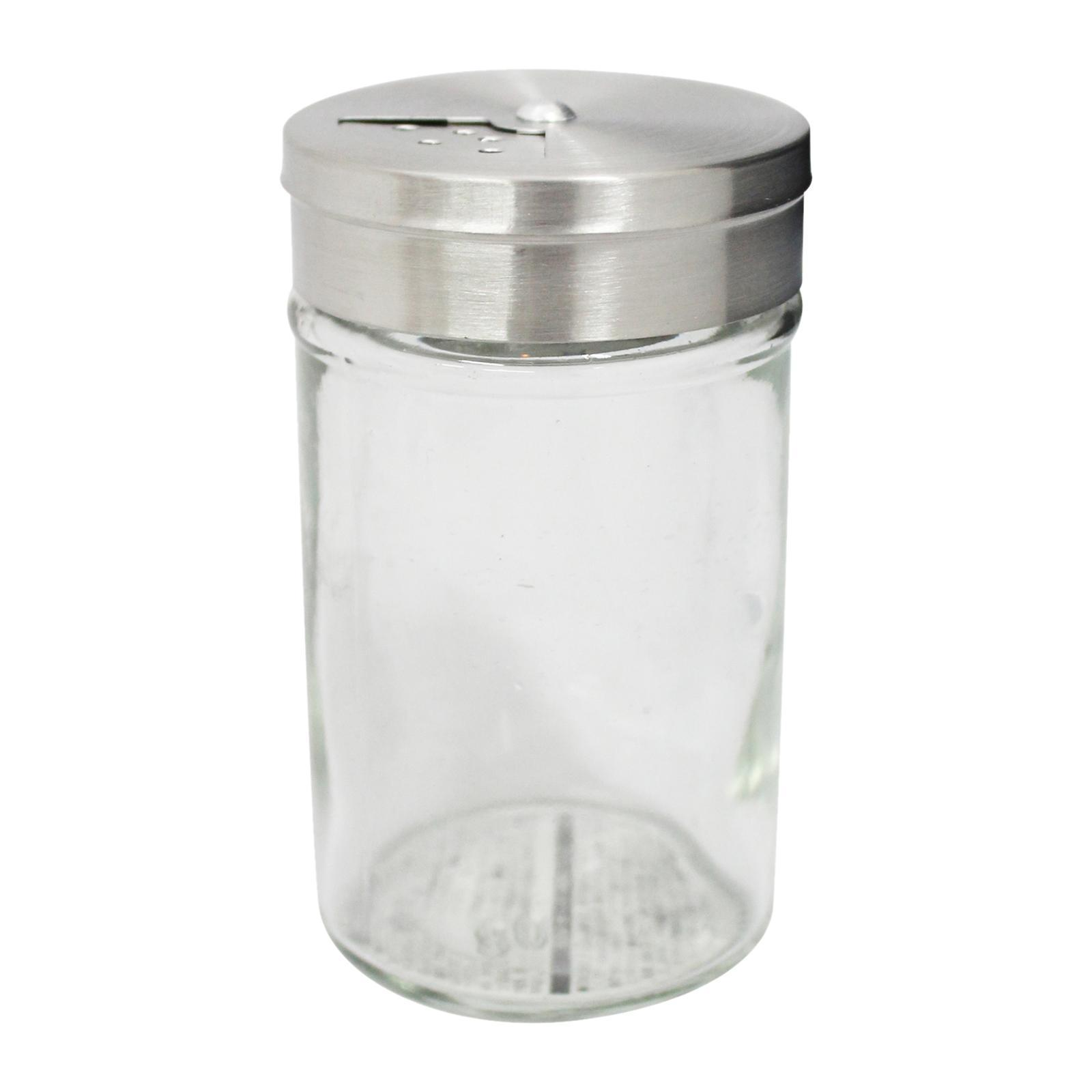 Echo Glass Spice Jar With Rotating Lid