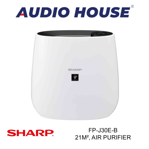SHARP FP-J30E-B 21m², PLASMACLUSTER AIR PURIFIER (BLACK) ***1 YEAR SHARP WARRANTY*** Singapore