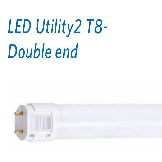 12PCs. x OPPLE LED U2 18W T8 Tube -DOUBLE END Daylight - DELIGHT
