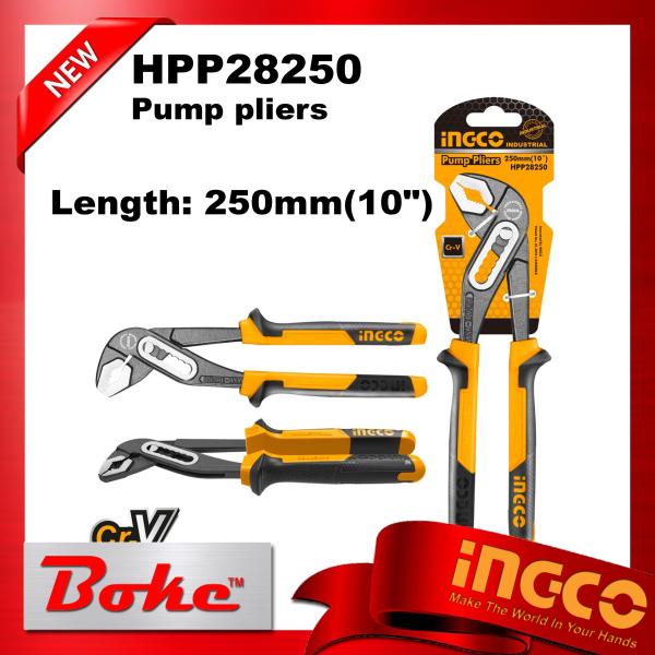 [Ready stock] INGCO HPP28250 Pump pliers 10 250mm