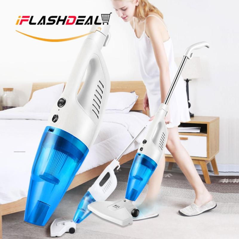 iFlashDeal Portable Vacuum Cleaners Professional Upright Vacuum Cleaners Bagless Hand Held Vacuum Cleaner for Carpet and Hard Floor(Blue) Singapore
