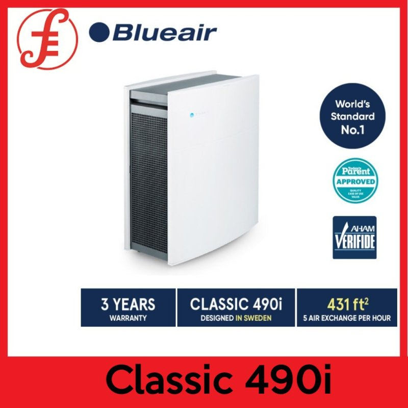 Blueair Air Purifier Classic 490i with DualProtection Filter WIFI ENABLED (490i) Singapore