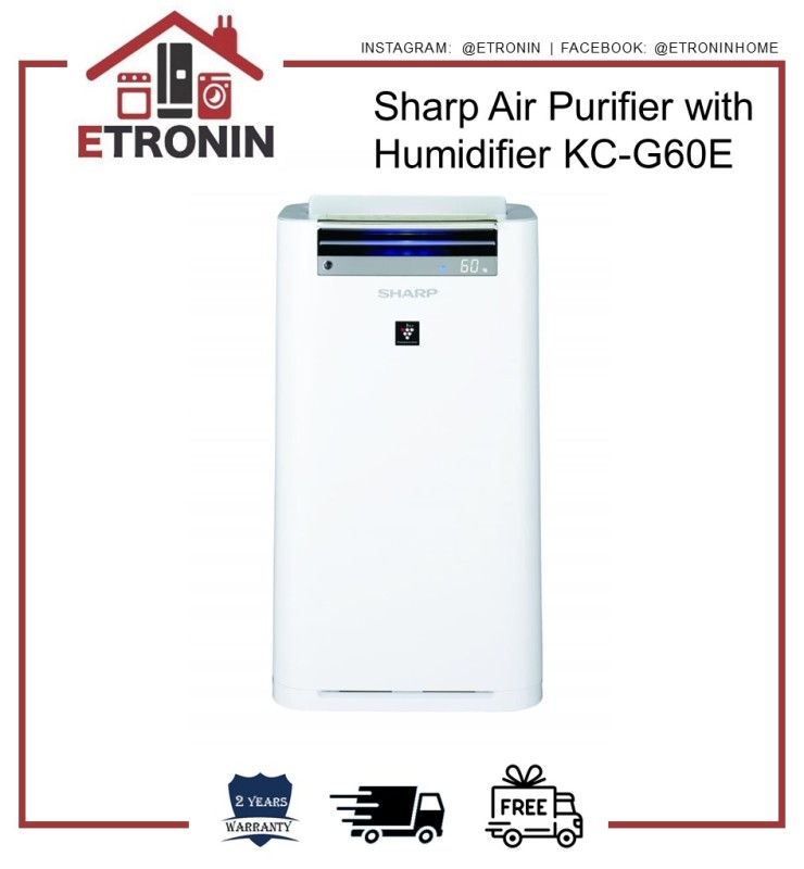 Sharp Air Purifier with Humidifier KC-G60E Singapore