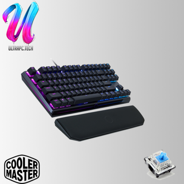 CoolerMaster Masterkeys MK730 TKL RGB ( CHERRY RED / CHERRY BROWN / CHERRY BLUE ) GAMING KEYBOARD (2Y) Singapore