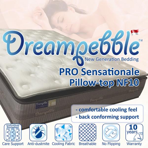 Dreampebble Pro Sensationale Pillow-top NF10 mattress
