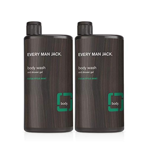 Buy (USA)Every Man Jack Body Wash, Eucalyptus Mint, 16.9-ounce (twin pack) Singapore