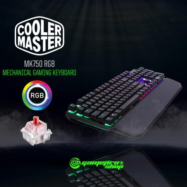 CoolerMaster Masterkeys MK750 RGB Gaming Keyboard ( CHERRY RED / CHERRY BROWN / CHERRY BLUE ) (2Y)