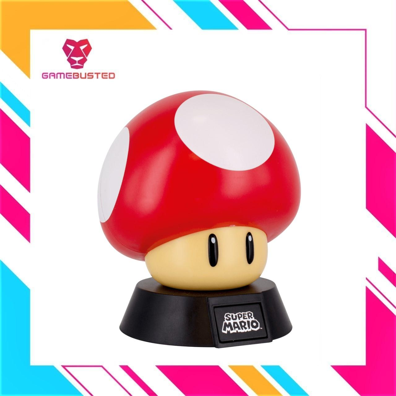 Paladone Nintendo Super Mario Red Mushroom Icon Light (015818)